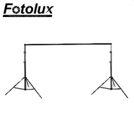 Fotolux T901P Background Support Kit with Telescopic Cross Bar (3.1m wide x 2.8m tall)