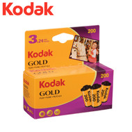 Kodak Gold 200 Colour 35mm Roll Film 24 Exposure (3 rolls)