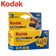 Kodak UltraMax 400 Colour 35mm Roll Film 24 Exposure (3 rolls)