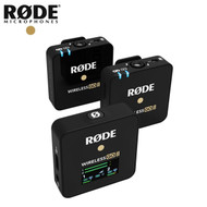 Rode Wireless GO II Dual Channel  Compact Wireless Microphone Kit (2 TX + 1 RX)