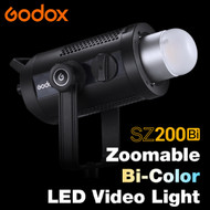 Godox SZ200Bi 200W Bi-Color Zoomable LED Video Light (2800K - 6500K)