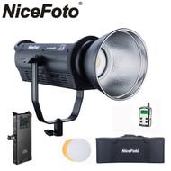 Nicefoto HA-3300BII 330W Pro Daylight COB LED Video Light V-mount Kit (3200K with colour filter / 5500K)