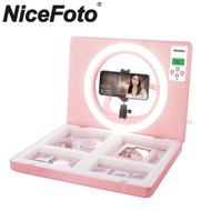 Nicefoto E-1 Live Make Up Ring Light (3200K-6500K)