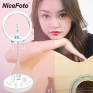 Nicefoto LR-318C 12'' USB LED Live Ring Light (3200K /5600K /6500K)