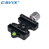 Cavix DC-50 50mm Arca-swiss Quick Release Base Clamp (Fits Manfrotto 200PL)