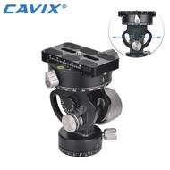 Cavix VH-10R Aluminium 2-Way Monopod Head (Max Load 10kg)