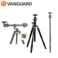 Vanguard VEO 3T+ 234AB  Aluminium 4-section Tripod with Dual-Axis Ball Head & Monopod / Horizontal Arm for Flat Lay photos (Max Load 10kg , Twist Lock)