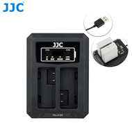 JJC DCH-LPE8 USB Dual Battery Charger for Canon LP-E8