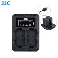 JJC DCH-NPW235 USB Dual Battery Charger for Fujifilm NP-W235
