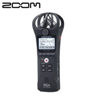 Zoom H1n 2-Track / 2-Channel  Stereo Portable Handy Audio Recorder with Onboard X/Y Microphone (Black)