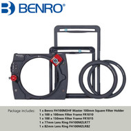 Benro FH100M3 Master 100mm Square Filter Magnetic Holder Kit (Fits 82mm ,95mm Magnetic CPL Filter)