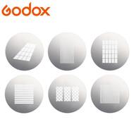 Godox SA-09-004 GOBO set for SA-P1 Projection Attachment (S30 Focusing LED Light ,Slot)