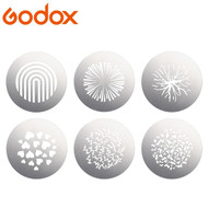 Godox SA-09-002 GOBO set for SA-P1 Projection Attachment (S30 Focusing LED Light ,Slot)