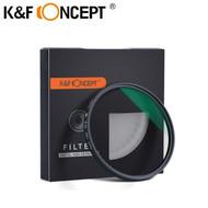 K&F Concept Slim MC CPL Circular Polarising Filter (German Optics Schott B270)