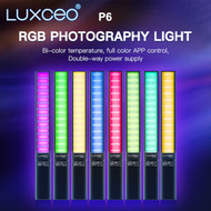 Luxceo P6 18W Handheld RGB LED Light Wand (2500K-6500K)