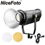 Nicefoto AD-2000B 200W Daylight COB LED Video Light (3200K with colour filter / 5600K ,  AC Power ,  Bowens Mount)