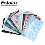 Fotolux 57cm x 87cm Ins Style Printed Photo Background Sheet for product photography (Double sided, 2 Patterns)