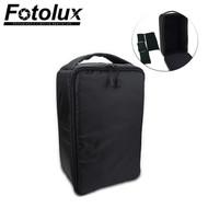 Fotolux Inner Partition Padded Camera Bag - Black (34 x 17 x 22cm)