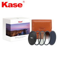 Kase 77mm Wolverine KW Magnetic Circular Professional Kit II (CPL + ND1000 + Soft GND 0.9 + Adapter Ring + Front Cap + Filter Bag)