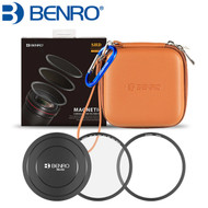Benro SHDMUVH82K 82mm SHD Magnetic Circular Filter Kit (UV + Fixed Ring + Lens Cap + Filter Bag)