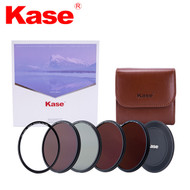 Kase 77mm Skyeye Magnetic Circular Professional ND Kit (CPL + ND8 + ND64 + ND1000 + Adapter Ring + Front Cap + Filter Bag)