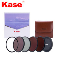 Kase 82mm Skyeye Magnetic Circular Professional ND Kit (CPL + ND8 + ND64 + ND1000 + Adapter Ring + Front Cap + Filter Bag)