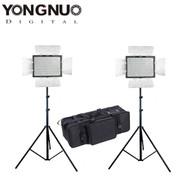 Yongnuo 2x YN300IV 18W RGB Colourful LED Lighting Kit (3200K - 5600K / RGB Full Colour)