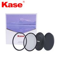 Kase 77mm Skyeye Magnetic Starter Kit (MCUV + CPL + Front Cap + Rear Cap)
