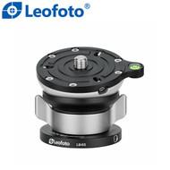 Leofoto LB-65 65mm Leveling Base (Max Load 18 kg , Half Ball , Tilt Range ±15° )