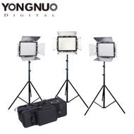 Yongnuo 3x YN-300III 18W 3200-5500K Video LED Lighting Kit