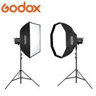 Godox SL150WII + SL200WII AC Power Pro Video LED Lighting Kit