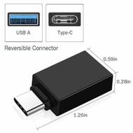 Fotolux USB-C Male to USB-A Female USB 3.0 Adapter OTG Converter
