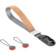 Peak Design Cuff Wrist Strap - New V3  ( Ash / Black )