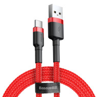 Baseus Type-C Cafule cable 2A, 3m Red