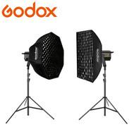 Godox VL150 150W + VL200 200W Dual Power Pro LED Video Lighting Kit