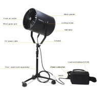 Nicefoto SF-06 Studio Fan with battery for location