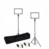 Nicefoto 2 x 15W SL-150A Small Softpad B-Colour Video LED Lighting Kit