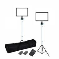 Nicefoto 2 x 18W SL-200A On-Camera Bi-Colour Video LED Lighting Kit