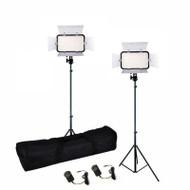 Godox 2x LED308CII  21W Bi-colour Video LED Lighting Kit (3300-5600K)
