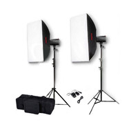 Godox Mini Pioneer 160 x2 Studio Flash Lighting Kit