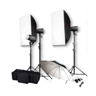 Godox Mini Pioneer 160 x3 Studio Flash Lighting Kit