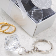 144 Diamond Design Keychain Wedding or Party Favors
