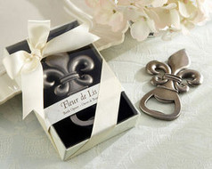 96 Fleur De Lis Bottle Opener Wedding Favors