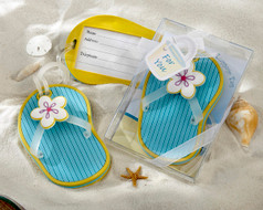 96 Flip Flop Luggage Tag Beach Wedding Favors