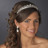 Classic Rhinestone Wedding and Quinceanera Tiara - sale!