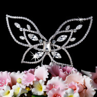 Crystal Butterfly Wedding Cake Topper