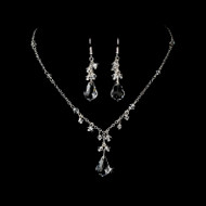 Crystal Drop Couture Bridal Jewelry Set