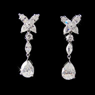 Glamorous CZ Bridal and Formal Earrings E5203