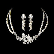 Fabulous Freshwater Pearl Bridal Jewelry Set