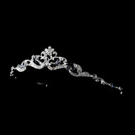 Floral Crystal Flower Girl Child's Tiara